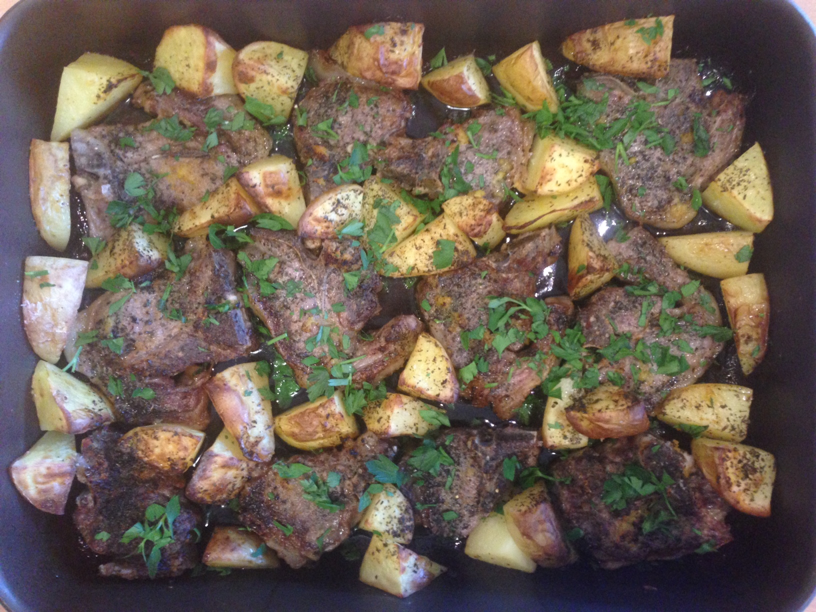 Nigella Lawson S Greek Lamb Chops With Lemon And Potatoes