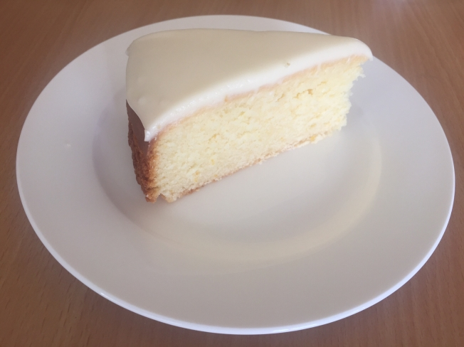 Lemon Cake Piece